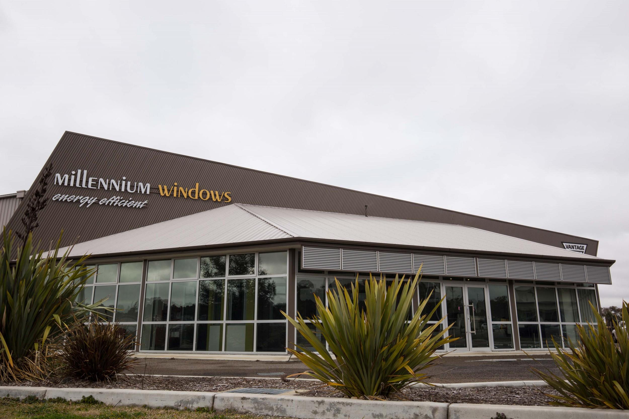 Millennium Showroom Exterior